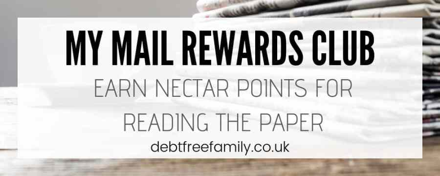 Boost your Nectar points balance when you join my mail rewards club from the Daily Mail.