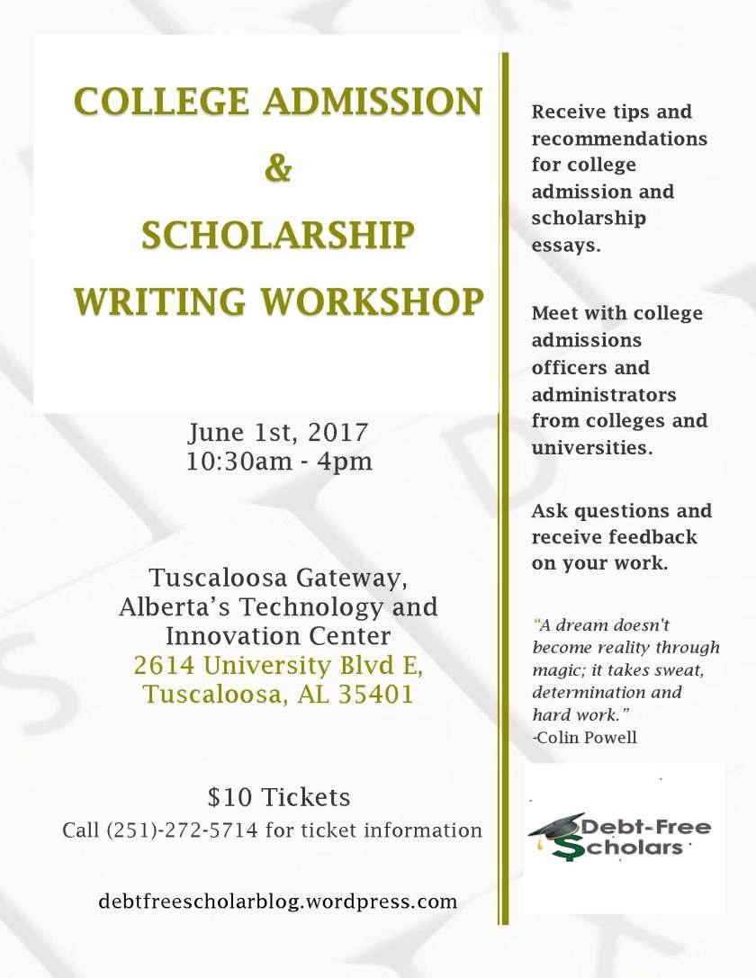 June 2017 Workshop Advertisement