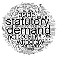 How to Withdraw a Statutory Demand