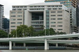 Harry Gibbs Commonwealth Law Courts Building bankruptcy in Brisbane