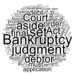 How to Set Aside a Bankruptcy Notice