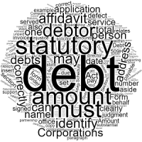 How to Draft a Statutory Demand – Form 509H