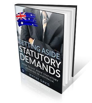 Setting Aside Statutory Demand Free eBook download