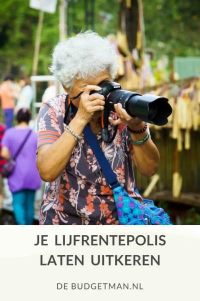 Je lijfrentepolis laten uitkeren; DeBudgetman.nl