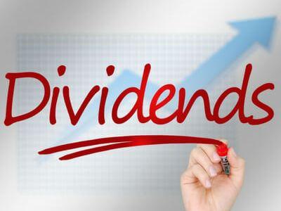 Het dividend wordt uitgekeerd