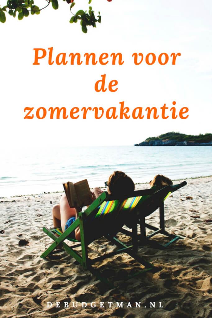 Onze plannen voor de zomervakantie; debudgetman.nl