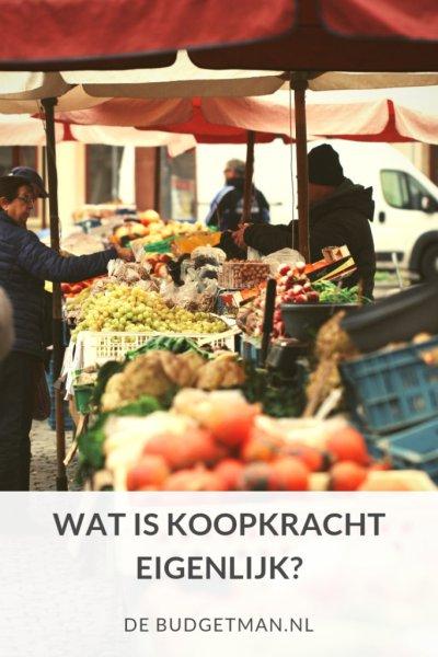Wat is koopkracht eigenlijk; DeBudgetman.nl