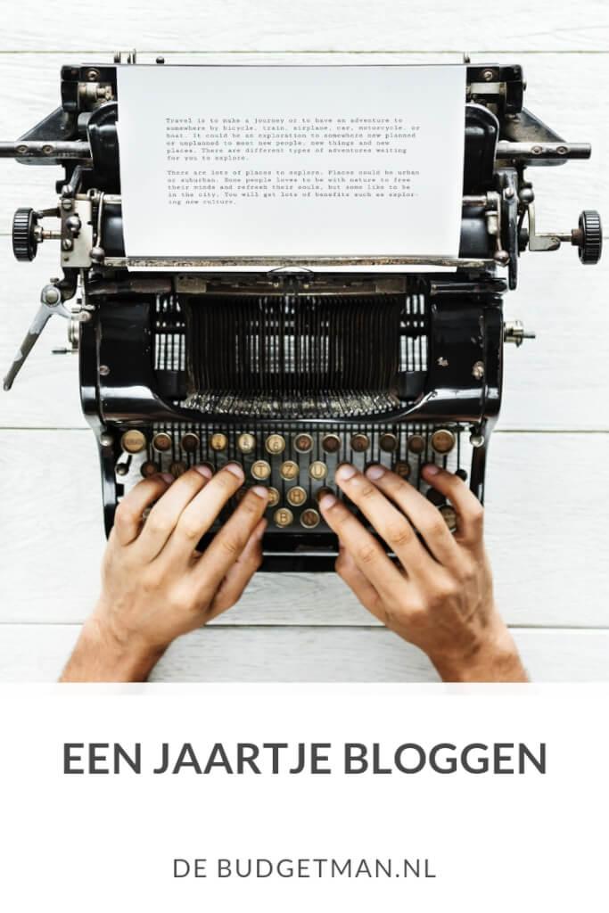 Een jaartje bloggen; DeBudgetman.nl
