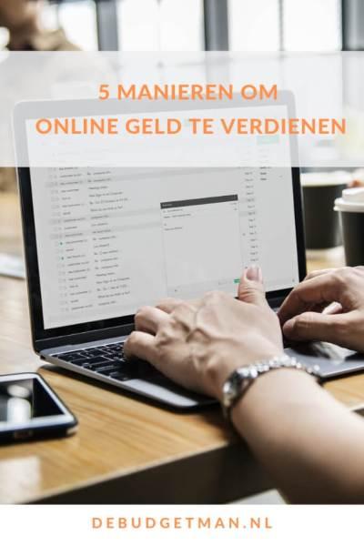5 manieren om online geld te verdienen #DeBudgetman