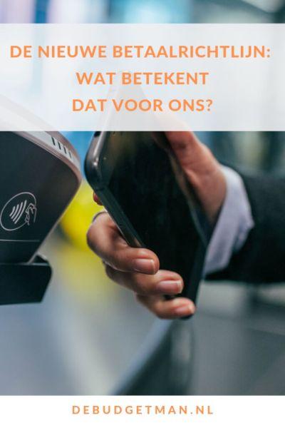 De nieuwe betaalrichtlijn PSD2: wat betekent dat voor ons? #DeBudgetman