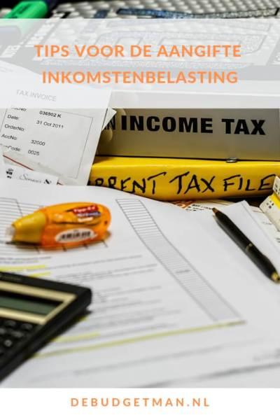 Tips voor de aangifte inkomstenbelasting #DeBudgetman