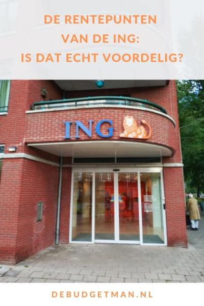 De rentepunten van de ING: is dat echt voordelig? #besparen #bank #DeBudgetman