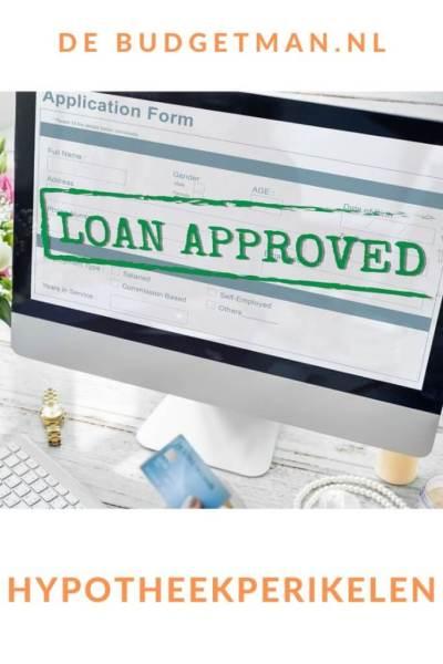 hypotheekperikelen #hypotheek #geld #budget #DeBudgetman