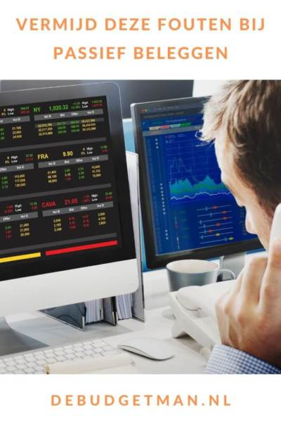 Vermijd deze fouten bij passief beleggen #stockmarket #budget #geld #beleggen #DeBudgetman