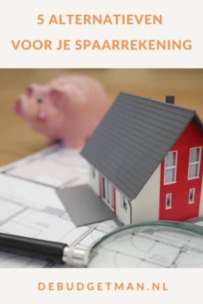 5 alternatieven voor je spaarrekening #sparen #geld #geldbesparen #alternatieven voor je spaarrekening #DeBudgetman