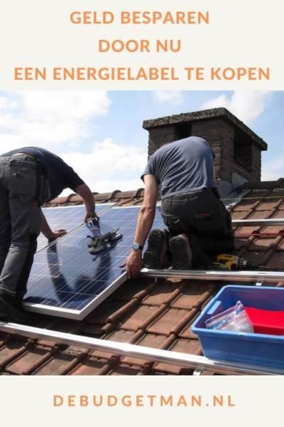 Geld besparen door nu een energielabel te kopen #geldbesparen #DeBudgetman