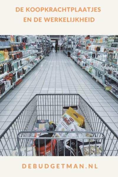 De koopkrachtplaatjes en de werkelijkheid #geldbesparen #inkomen #DeBudgetman