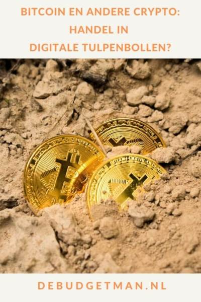 Bitcoin en andere crypto: handel in digitale tulpenbollen? #crypto #Bitcoin #beleggen #DeBudgetman
