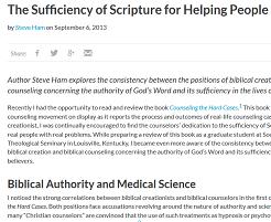 Creationist anti-psychiatry