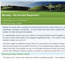 morality the secular response