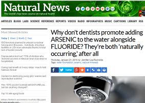 Anti-fluoridation stupidity.