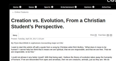 Confused Creationist Student Wrong on Evolution