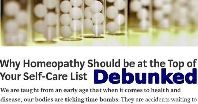 Why Homeopathy Is Still Bullshit