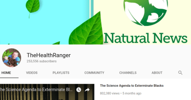 Natural News Back on YouTube After Ban