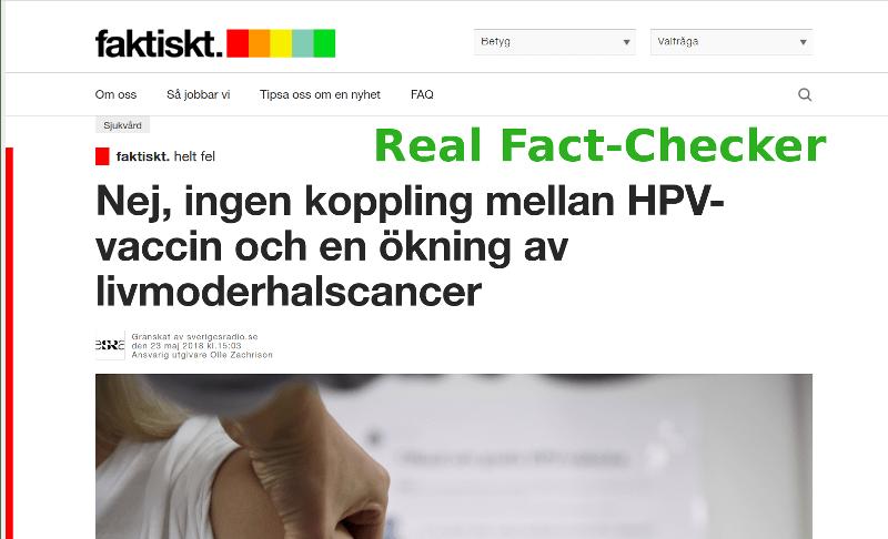 Real fact-checker