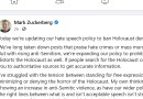 Facebook Finally Bans Holocaust Denial