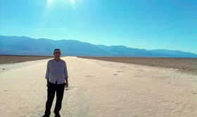 Pádraig being dána at Badwater