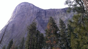The imposing El Capitan