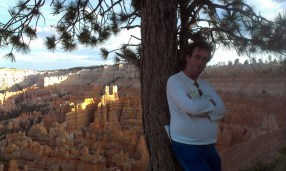 Pádraig in Bryce Canyon