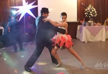 Coreografia Tango Jeniffer Lopez Gabi