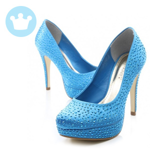 Sapato Blueberry Nova Noivas