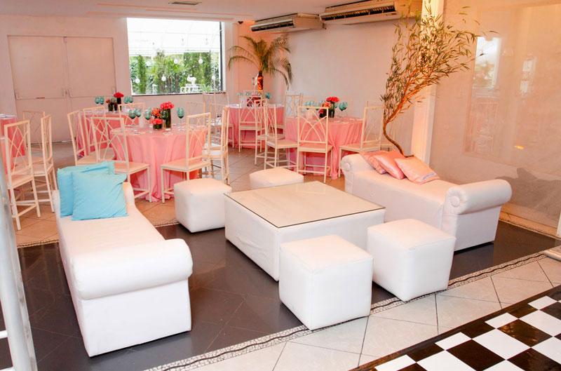 Lounges para festa de 15 anos