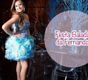 Festa Balada da Fernanda