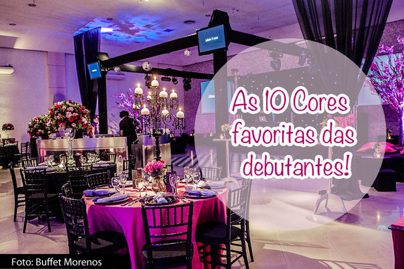 10 Cores mais queridas para debutantes - Debuteen