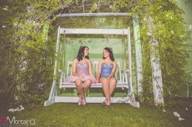 Festa de 15 anos das gêmeas Ana Beatriz e Ana Luiza