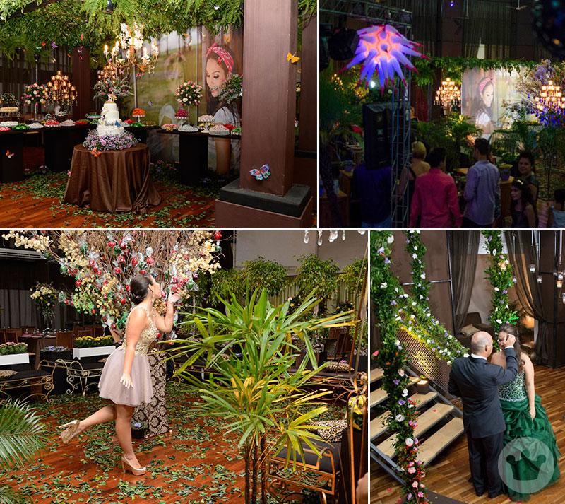 Festa de 15 anos - Jardim Encantado