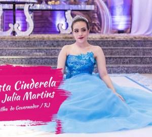 Cinderela festa 15 anos