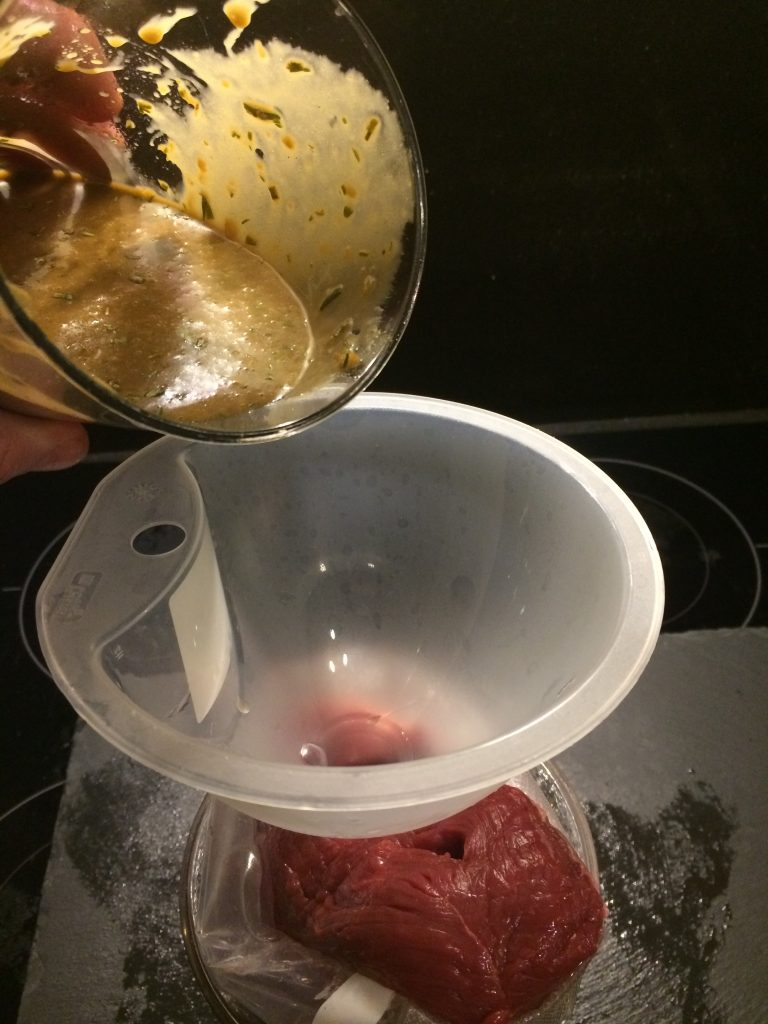 Marinade in Picanha