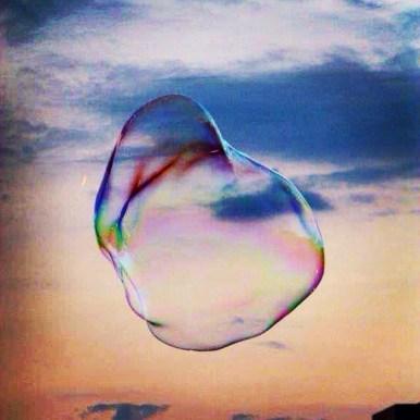 Rainbows in a bubble