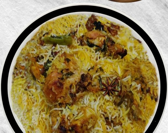 Hyderabadi Dum Biryani, Chicken Dum Biryani, How to Make Hyderabadi Chicken Biryani