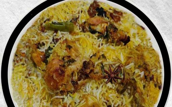 Hyderabadi Chicken Biryani, Chicken Dum Biryani, How to Make Hyderabadi Chicken Biryani step by step