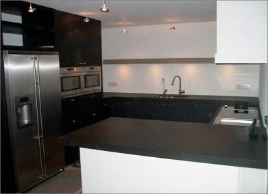 Keuken eiken zwart