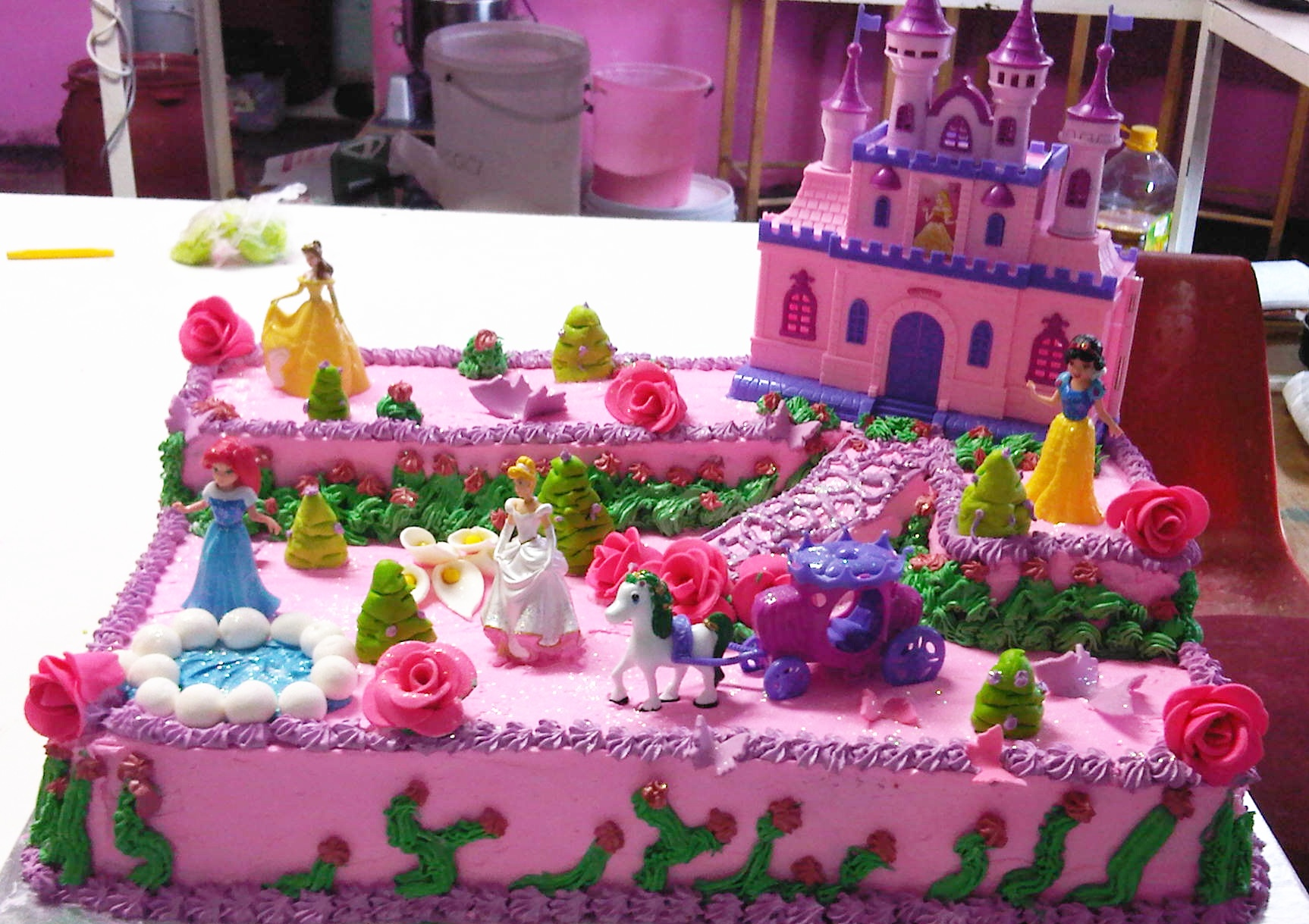 Disney Princess Names Cake Ideas And Designs
