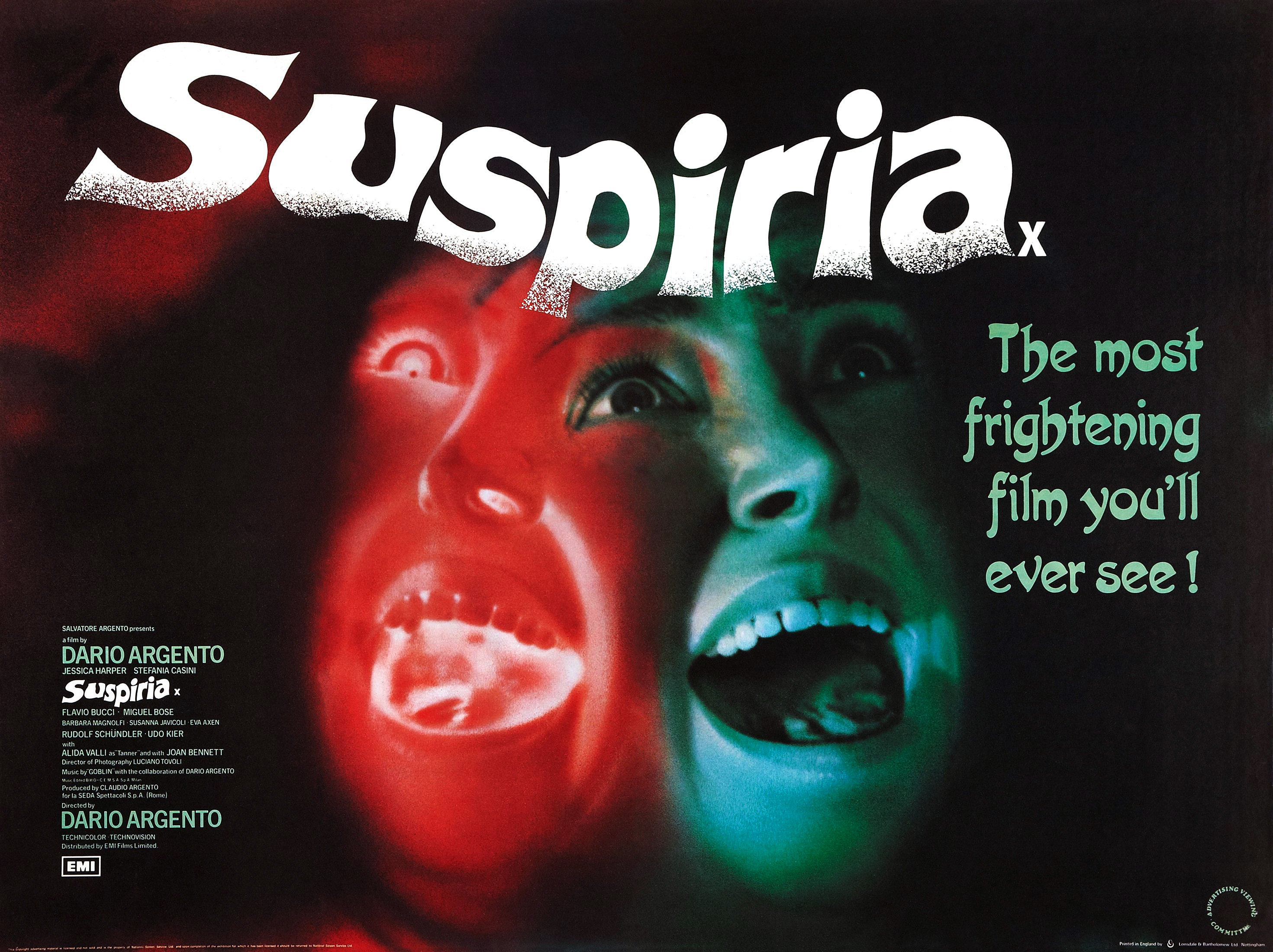Image result for Suspiria (1977)