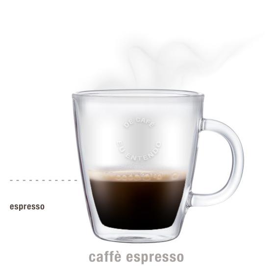 imagem de uma xícara de café cheia até a metade