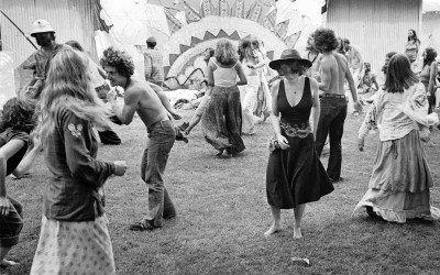 Dancing and 1970s fashion at the Renaissance Faire